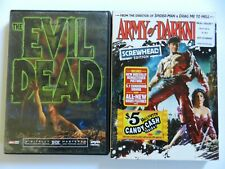 2 Dvd's - The Evil Dead & Army Of Darkness