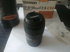 NEW Tamron SP AF 90mm F/2.8 Di Macro Lens 272E 1:1 For CANON AF