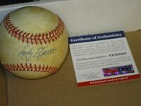 Early Wynn autographed Baseball PSA Certified