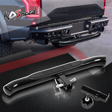 "Coated Black 37""x3.25"" Pedal Class III 2"" Receiver Tailgate Hitch Rear Step Bar"