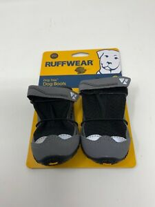 """Ruffwear Grip Trex Dog Boots Set Of 2 Twilight Gray Size 2.25"""" 57mm New With Tag"""
