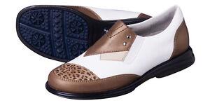 Sandbaggers Golf Shoes: Pip Pecan