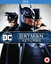 Batman Returns [1992] (Blu-ray) Michael Keaton, Danny DeVito, Michelle Pfeiffer
