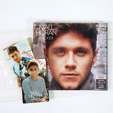 Niall Horan (One Direction) Flicker Deluxe Taiwan CD OBI+2 Promo Card+Poster NEW