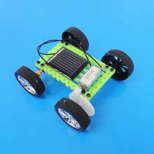 Green Solar Toy Educational Model Kit DIY Car Children Hobby Robotic 8*7.5*3.2cm