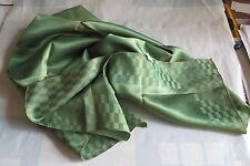 Foulard en satin Cetato vert brillant made in Italy