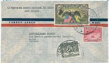 BIRDE - EAGLES - BOXING - AIRMAIL: COVER - ECUADOR 1947