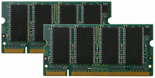New 2GB 2x1GB PC2700 DDR333 200pin So-Dimm DDR Low Density Laptop Memory