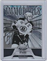 2011-12 CERTIFIED IMMORTALS RAY BOURQUE PANINI 158 BRUINS