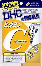 New DHC vitamin C (hard capsules) 60 days 120 capsules Free Shipping F/S