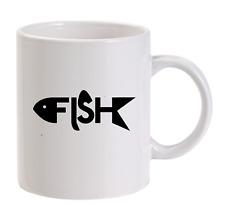 PESCE PESCATORE PERSONALIZZATO Boccale buffo idea regalo da uomo pesca NATALE