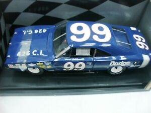 PAUL GOLDSMITH 1969 DODGE CHARGER 500 NASCAR SERIES #99 1/18 MOPAR DIECAST RARE