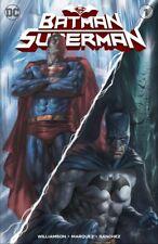 BATMAN SUPERMAN 1 LUCIO PARRILLO VARIANT SET EXCLUSIVE LTD 600 W/  COA pressle