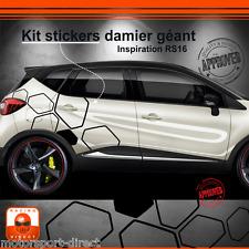 Sticker Renault Captur tuning sport aufkleber adesivi pegatina decal 505
