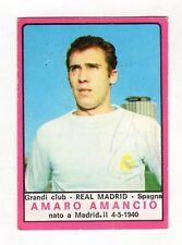 FIGURINE  CALCIATORI PANINI 1967/68    REAL  MADRID  AMANCIO     DA  RECUPERO