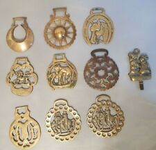 Job Bulk Lot 10 X Horse Brass Items
