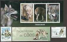 TAMASKAN ** Int'l Dog Postage Stamp Art Collection ** Great Gift Idea **