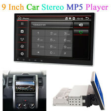 "9"" Android 8.0 1Din Car Stereo GPS Player Octa-Core Mirror Link BT Wifi OBD DVB"