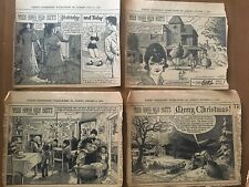 The Good Old Days Newspaper Funnies; Erwin L. Hess; 1957-1972; Lot Of 237