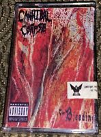 Cannibal Corpse – The Bleeding. VG Cassette Tape. Plays Well Very Rare