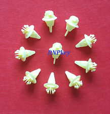 TOYOTA UNIVERSAL BUMPER FENDER WHEEL MOULDING CLIPS FASTENER X10 (695)