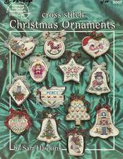 Cross Stitch Christmas Ornaments by Sam Hawkins