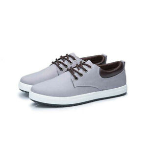 Men's casual comfort breathable canvas shoes fashion trend sports large size hot