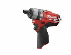 """MILWAUKEE 2402-20 M12 FUEL™ 1/4"""" Hex 2-Speed Screwdriver (Tool Only)"""