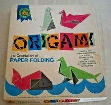 Origami Kit ~ Oriental Art of Paper Folding ~ Platt & Munk ~ Child Guidance Ed.