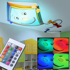 Plafonnier LED télécommande baby-kinder-zimmer Dragons RGB Luminaire Modulable