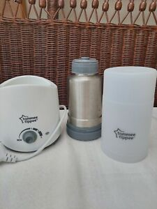 Tommee Tippee Electric Bottle/Food Warmer, Travel Flask and Cup * BUNDLE*