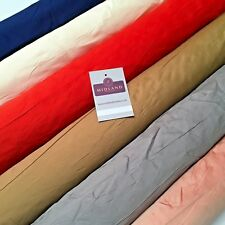 "Plain Shantung Faux Raw Silk Dupion Fabric 58"" Wide MA935 Mtex"