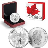 2013 O Canada 1/2 oz Silver $10 - Caribou