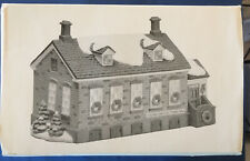 Department 56 Stoney Brook Town Hall, Retired New England Village.