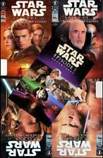 STAR WARS GRAPHIC NOVELS ~ PHANTOM MENACE & ATTACK OF THE CLONES ~ COMIX