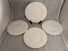 Set of 4 Villeroy & Boch Twist White Salad Plates