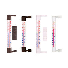 Window Wall Thermometer Weather Station Indoor Outdoor Garden Home Observatory