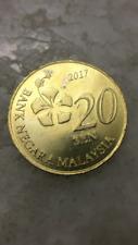 (JC) 20 sen 3rd Series Malaysia coin 2017 (DDR / MDD Error) -  EF