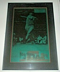 TED WILLIAMS ONE OF A KIND BOSTON HERALD NEWSPAPER PRINTING PLATE JULY 2, 2002