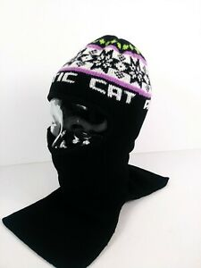 Vintage Arctic Cat Snowmobile Winter Stocking Cap Face Mask Adult Unisex M/L