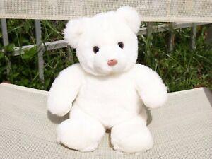 "RARE VINTAGE GUND - WHITE KINDER BEAR - #1903 - 13"" - 1986"