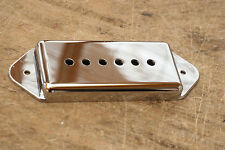 Cubierta Pastilla P90 plateada Pole Spacing 50 mm. Dogear Cover Pickup Plated