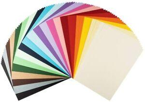 Lot 100 Feuilles Carton Argile Format A4 Papeterie 20 Couleurs Creation Atelier