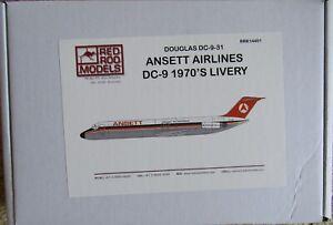 Red Roo 1/144 Ansett McDonnell Douglas DC-9-31