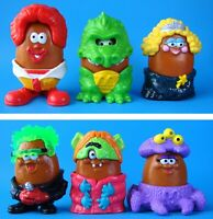 MCDONALD'S VINTAGE 1996 HALLOWEEN MCNUGGET BUDDIES ALL 6 HAPPY MEAL TOYS