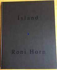 Roni Horn Haraldsdottir Island To Place 1996 6th Book RARE