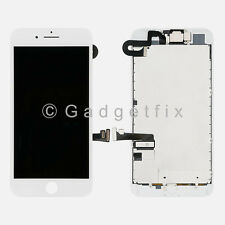 US White iPhone 7 Plus LCD Screen Display Touch Screen Digitizer + Camera Sensor