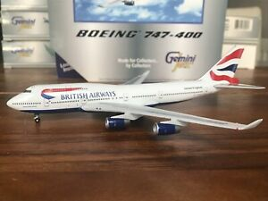 Gemini Jets 1/400 British Airways Boeing 747-400 GJBAW023 G-CIVX New