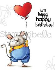 New Stamping Bella Cling Rubber Stamp Brittany Milton The Mouse Birthday