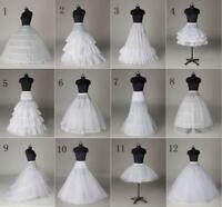 Hot 12 Style A-Line/Hoop/Hoopless/Short Crinoline Petticoat/Underskirt wedding